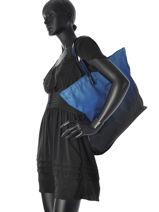 Sac Porté épaule A4 Lyda Armani jeans Bleu lyda 52-CC862-vue-porte