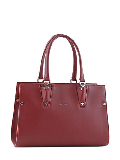 Longchamp Paris Premier Handbag Red