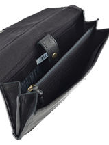 Check Holder Leather Pieces Black daisa 17077716-vue-porte