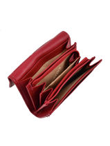 Purse Leather Katana Red daisy 553041-vue-porte