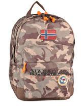 Backpack Napapijri Gray north cape 5ANN3R23