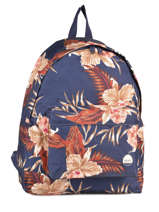 Backpack 1 Compartment Roxy Blue back to school JBP03266
