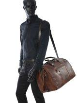 Travel Bag Travel Chiarugi Brown travel 55521-vue-porte