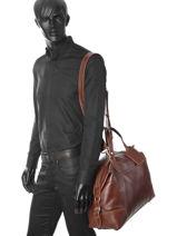 Travel Bag Jasper Arthur et aston Brown jasper 1589-20-vue-porte