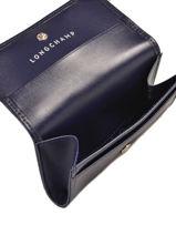 Longchamp Honoré 404 Coin purse Blue-vue-porte