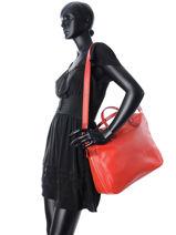 Longchamp Longchamp 2.0 Briefcase Red-vue-porte