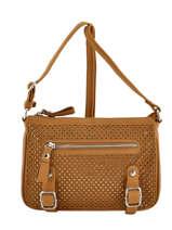 Shoulder Bag Avana Fuchsia Brown avana F9657-3