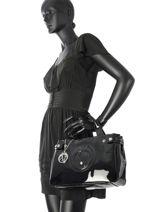 Shopping Bag Vernice Lucida Patent Armani jeans Black vernice lucida 529B-55-vue-porte