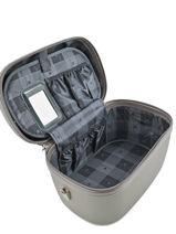 Beauty Case Snowball Marron robust lite 31935-vue-porte