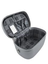 Beauty Case Snowball Argent robust lite 31935-vue-porte