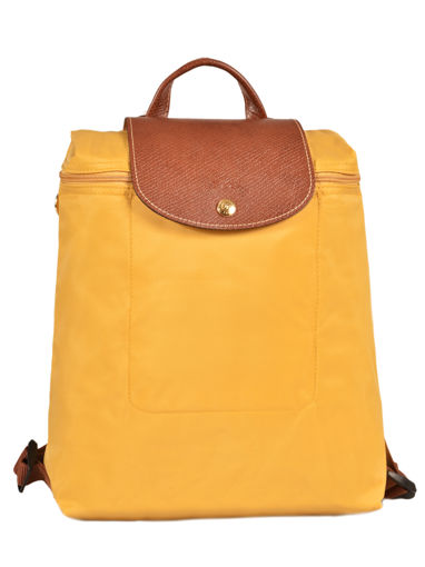 Longchamp Le pliage Backpack Yellow