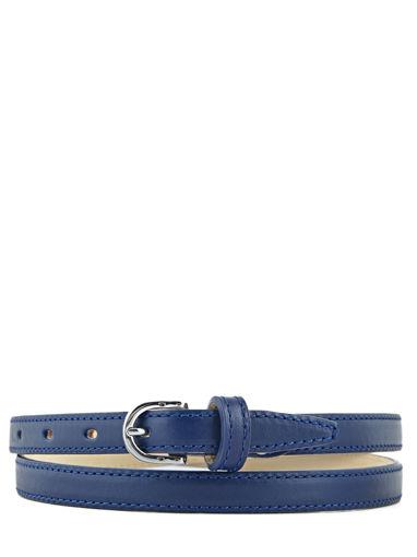 Longchamp Honoré 404 Belts Blue