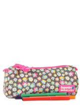 Trousse 1 Compartiment Superdry Multicolore accessories U98001NO-vue-porte