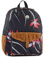 Backpack 1 Compartment Roxy Black backpack RJBP3399