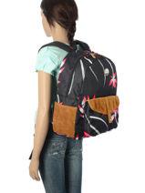 Sac à Dos 1 Compartiment Roxy Noir backpack RJBP3399-vue-porte