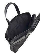 Briefcase Le tanneur Black audacieux TDX4001-vue-porte