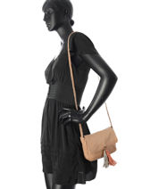 Crossbody Bag Frabo Leather Pieces Brown frabo 17075652-vue-porte