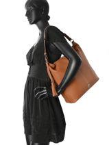 Hobo Bag Vesuvio Leather Mac douglas Brown vesuvio EDUVES-M-vue-porte