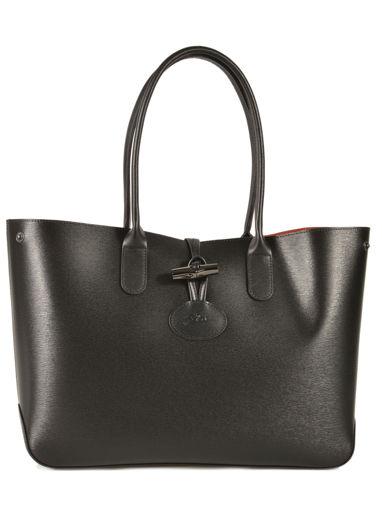 Longchamp Roseau Besaces Noir