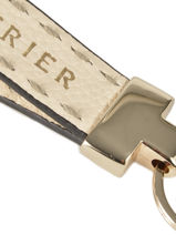 Key Holder Leather Etrier Beige tradition EHER904-vue-porte