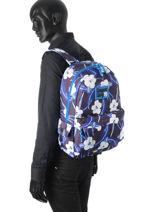 Sac à Dos 1 Compartiment Superdry Bleu backpack M91001NO-vue-porte