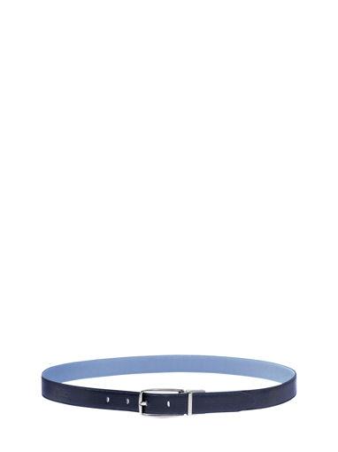 Longchamp Roseau Ceinture Bleu