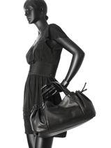 Shopper Gd Leather Gerard darel Black gd DES07410-vue-porte