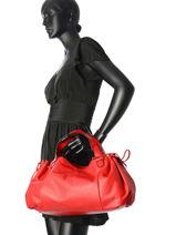 Sac Shopping Gd Cuir Gerard darel Rouge gd DES07410-vue-porte