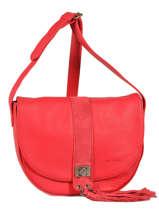 Shoulder Bag Vintage Leather Nat et nin Red vintage ALBA