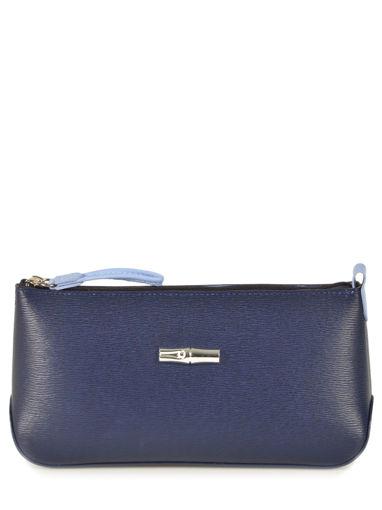 Longchamp Clutch / cosmetic case Blue