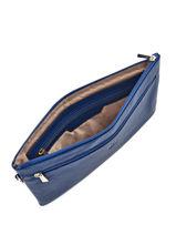 Evening Bag Hexagona Blue pretty 467211-vue-porte