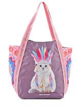 Shoulder Bag A4 Jasmine Apache Teo jasmin Brown jasmine apache JAS616AP