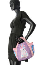 Shopping Bag Jasmine Apache Teo jasmin Brown jasmine apache JAS626AP-vue-porte