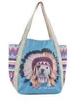 Shoulder Bag A4 Teo Apache Teo jasmin Blue teo apache TEO616AP