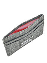 Porte-cartes Herschel Gris classics 10045-vue-porte