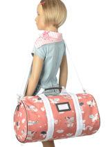 Sac De Sport Jeune premier Rose bagage SB16-vue-porte