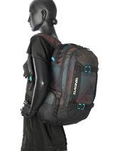 Sac à Dos 2 Compartiments Dakine Noir girl packs 1000-747-vue-porte