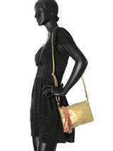 Crossbody Bag Solange Leather Pieces Gold solange 17081595-vue-porte