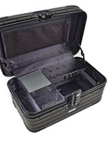 Beauty Case Hardside Rimowa Black topas stealth 92038010-vue-porte