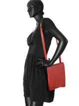Shoulder Bag N City Leather Nathan baume Red n city N1621116-vue-porte