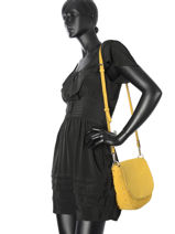 Crossbody Bag Camp Leather Gianni chiarini Yellow camp 5720-CM-vue-porte