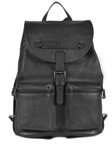 Longchamp Longchamp 3d Backpack Black