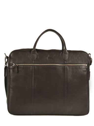 Longchamp Parisis Briefcase Black