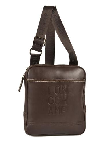 Longchamp Cavalier Besace Marron