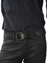 Ceinture Redskins Noir belt REDALDEN-vue-porte