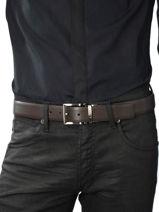 Belt Armani jeans Brown belt CC884-vue-porte
