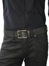 Belt Redskins Black accessoires 15317-vue-porte