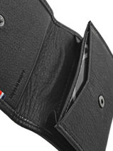 Card Holder Leather Etrier Black oil 790016-vue-porte