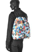 Backpack 1 Compartment A4 Eastpak Multicolor pbg authentic PBGK620-vue-porte