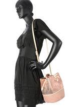 Sac Porte Epaule Multipelle Leather Neuville Pink multipelle M0164-16-vue-porte